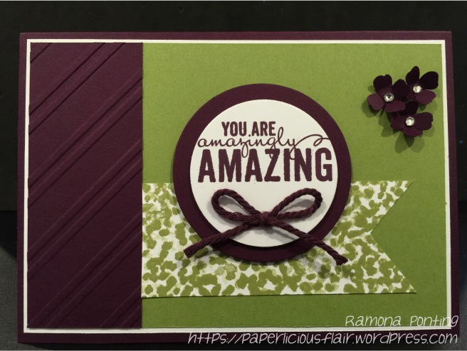 You are amazingly amazing Card