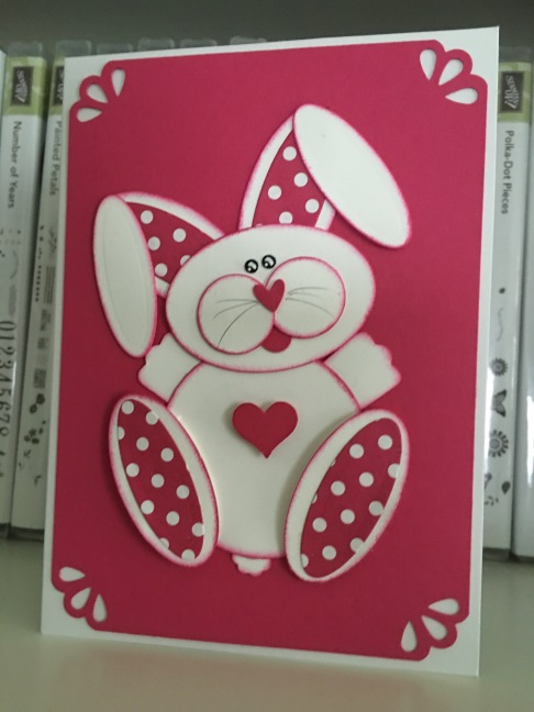 Punch Art Bunny (1)